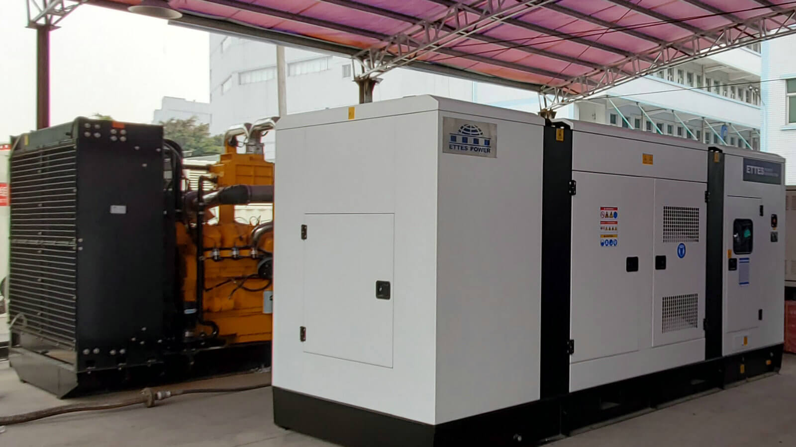 4×200kW & 2×500kW Biogas Generating Station to Thailand