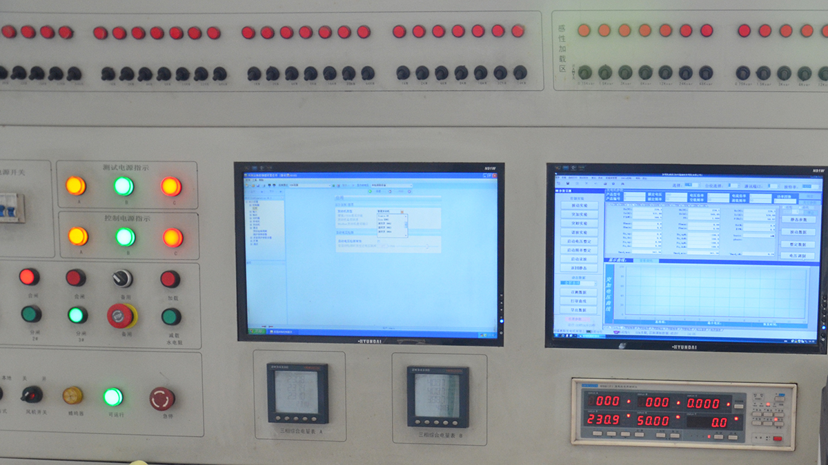 Generators Gensets Testing System of ETTES POWER Group
