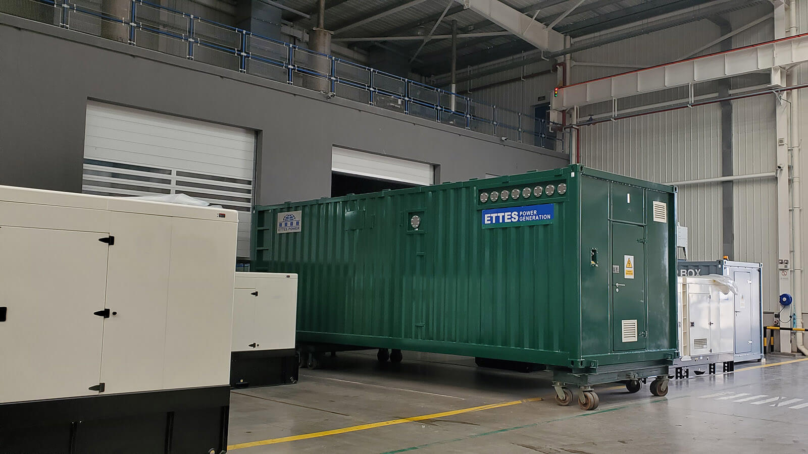 2X500kW MAN Containerized Biogas Generating Set & CHP ETTES POWER