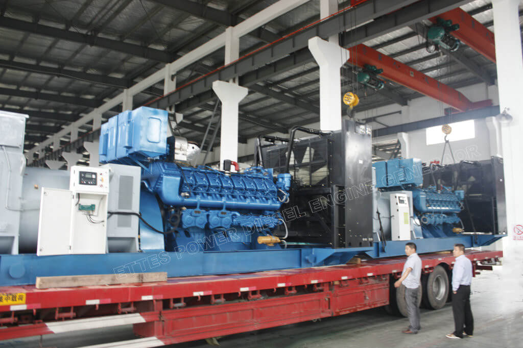 3.2MW Deutz 10.5kV High Voltage Diesel Generators to Finland