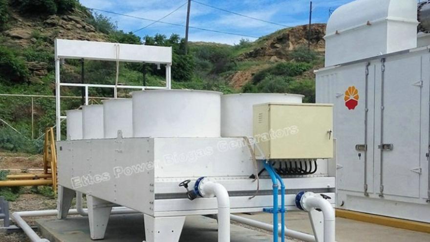 Ettes Power Natural Gas Associated Gas Methane Engine Generation Power Plant Ettespower