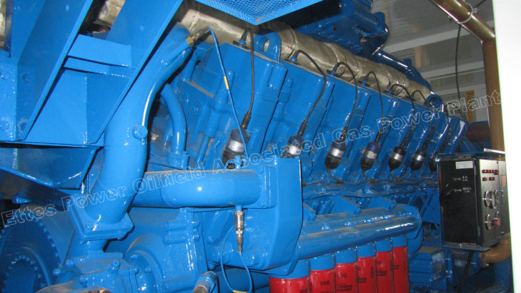 Ettes Power 1000kW 1MW Nautral Gas Engine Generator H16V190ZLT Ettes Power Group