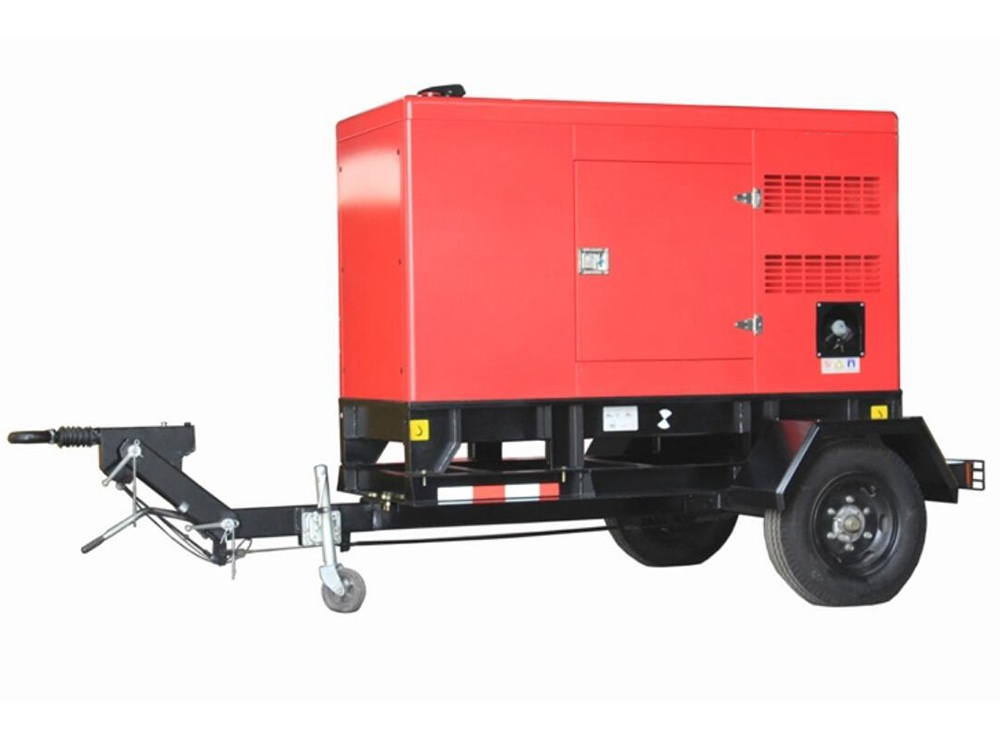 Ettes Power Silent Low Noise Moving Trailer Diesel Power Generation EttesPower