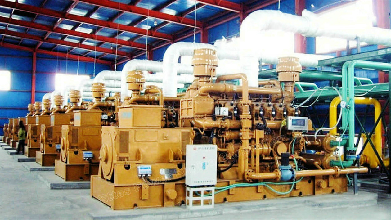 Ettes Power Group 1000kW 4MW 5MW Associated Petroleum Gas Generator Set Power Station Ettes Power