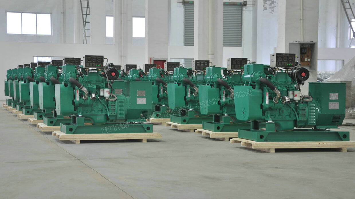 Cummins Marine Engine Generators to Philippines